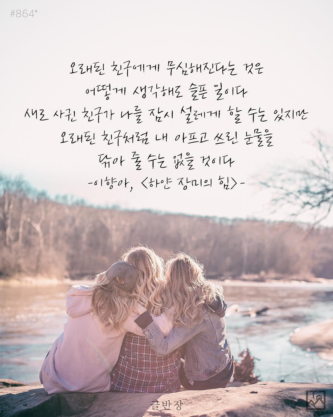 오래된 친구 - 이향아, <하얀 장미의 힘>