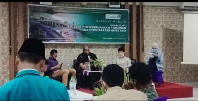 Kaji UU Omnibuslaw, UNU NTB  Gelar Diskusi Publik Pecahkan Kluster Perizinan dan Syarat Investasi