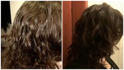 włosy po pielęgnacji naftą kosmetyczną