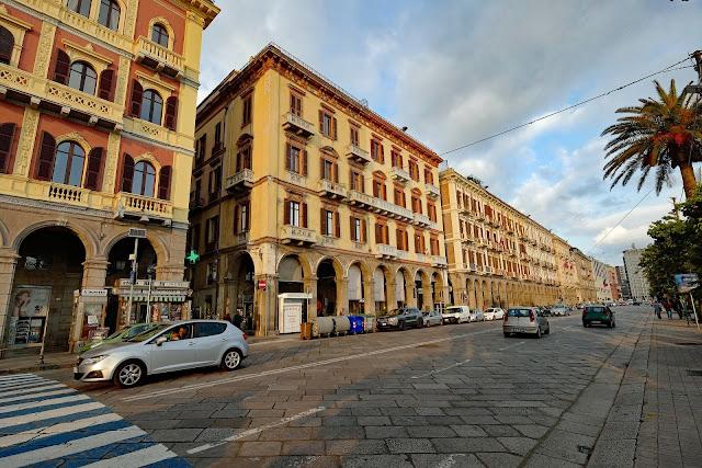 Cagliari the capital of Sardinia,area of Italy.
