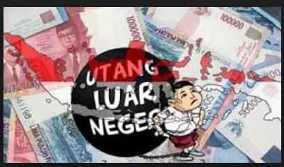 Duh, Naik 9,1 Persen, Utang Luar Negeri Indonesia Tembus Rp 4.636 Triliun