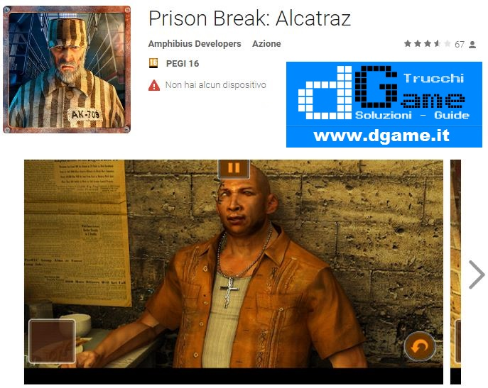 Soluzioni Prison Break: Alcatraz di tutti i livelli | Walkthrough guide