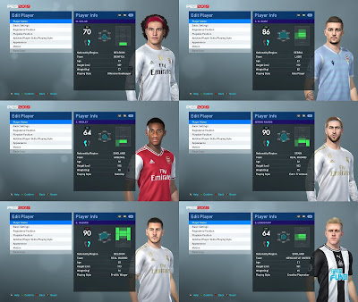 PES 2019 Facepack by Rachmad Abs & Sofyan Andri