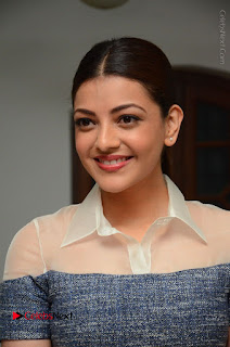 Actress Kajal Agarwal Latest Stills at Khaidi No 150 Movie Interview  0010.JPG