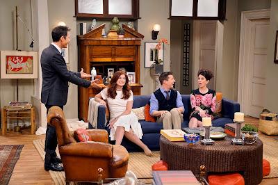 Escena de uno de los episodios de Will & Grace