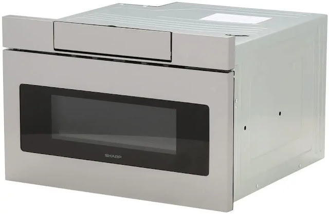 9.Sharp SMD2470AS Microwave 24 Inch Stainless