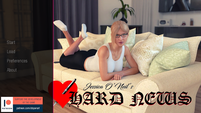 Jessica O'Neil's Hard News APK v0.35 [Android PC Mac] Adult Game Download   The Adult Channel