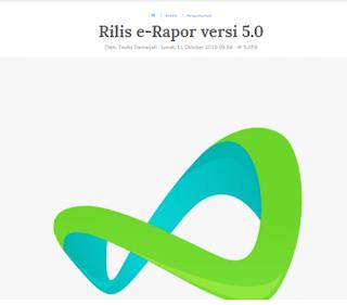 Aplikasi e-Rapor SMK Versi 5.0