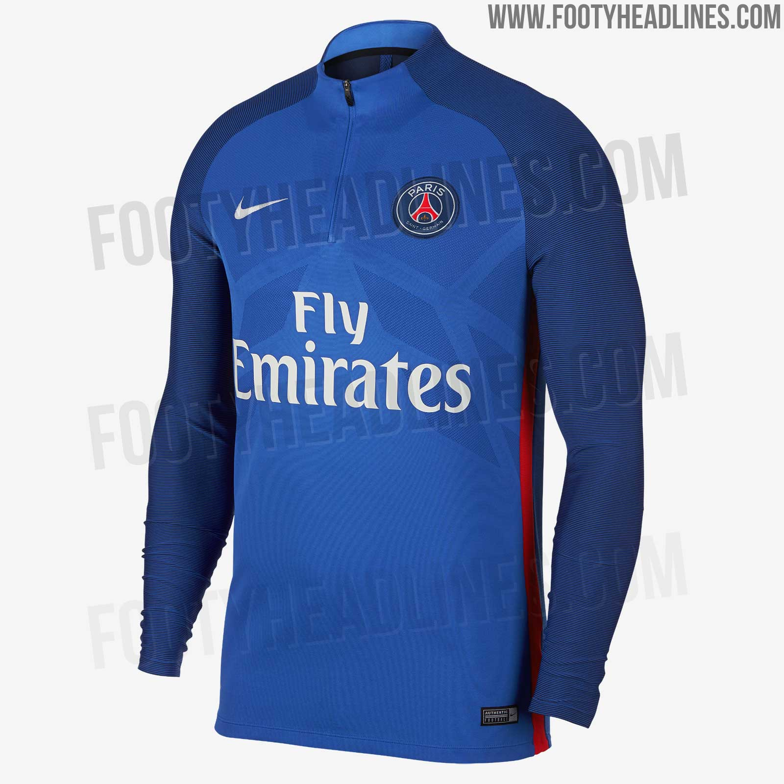 Classy Nike PSG 2018 Vapor Aeroswift Strike Training Kit
