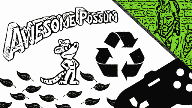 awesome possum e ecologia