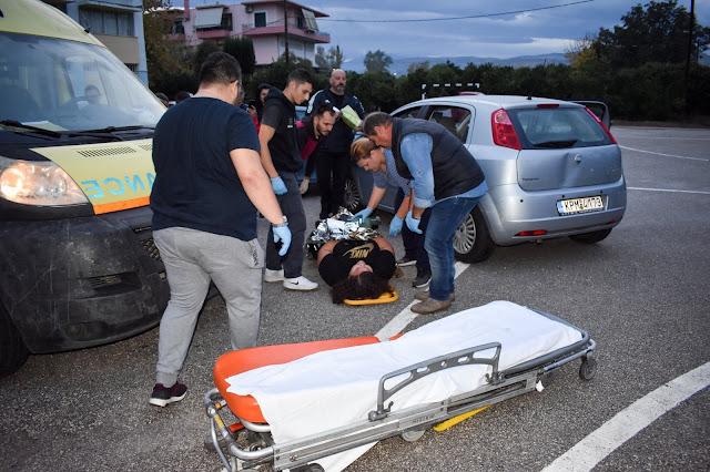 Άσκηση διαχείρισης τροχαίου στο ΔΙΕΚ Άργους υπό πραγματικές συνθήκες