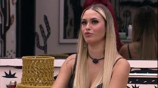 Sarah conversa com brothers sobre o BBB21: 'São 7 pessoas que eu quero na Final comigo'