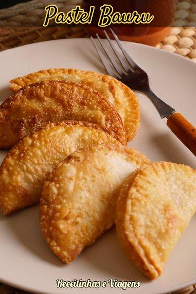 Pastel Bauru, como fazer o tradicional pastel paulistano