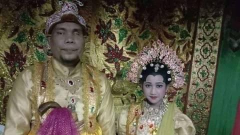 Pria Tuna Netra Berusia 44 Tahun di Sulsel Nikahi Gadis Umur 12 Tahun