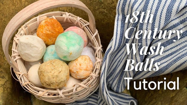 Colonial Era Wash-Balls Soap