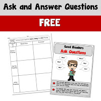 Free Ask and Answer Poster