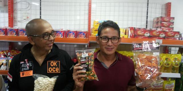 Sandiaga Resmikan OK-OCE Mart Pertama di Jakarta