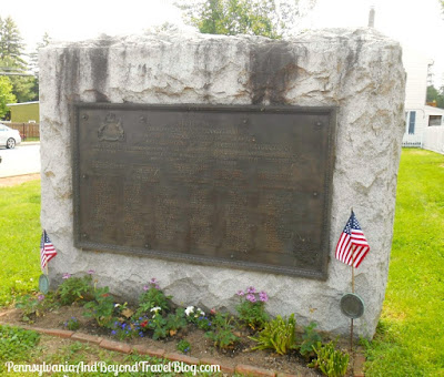 The Revolutionary War Monument in Middletown Pennsylvania