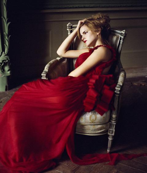 Emma Watson For Vogue Italia 2008 Star Light S Fashion World