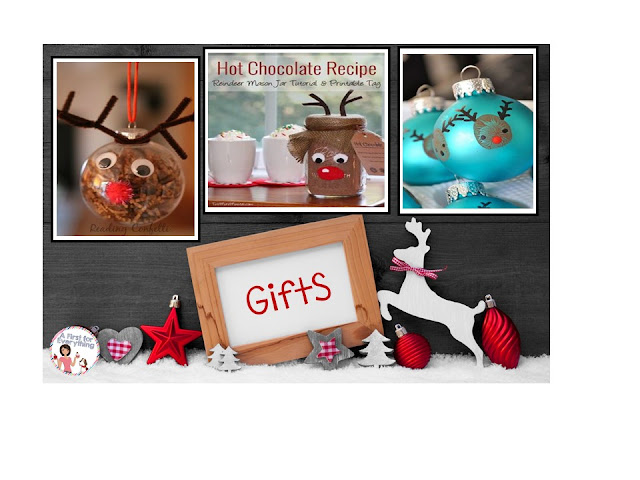 Reindeer themed keepsake gifts kids can make for the holidays.