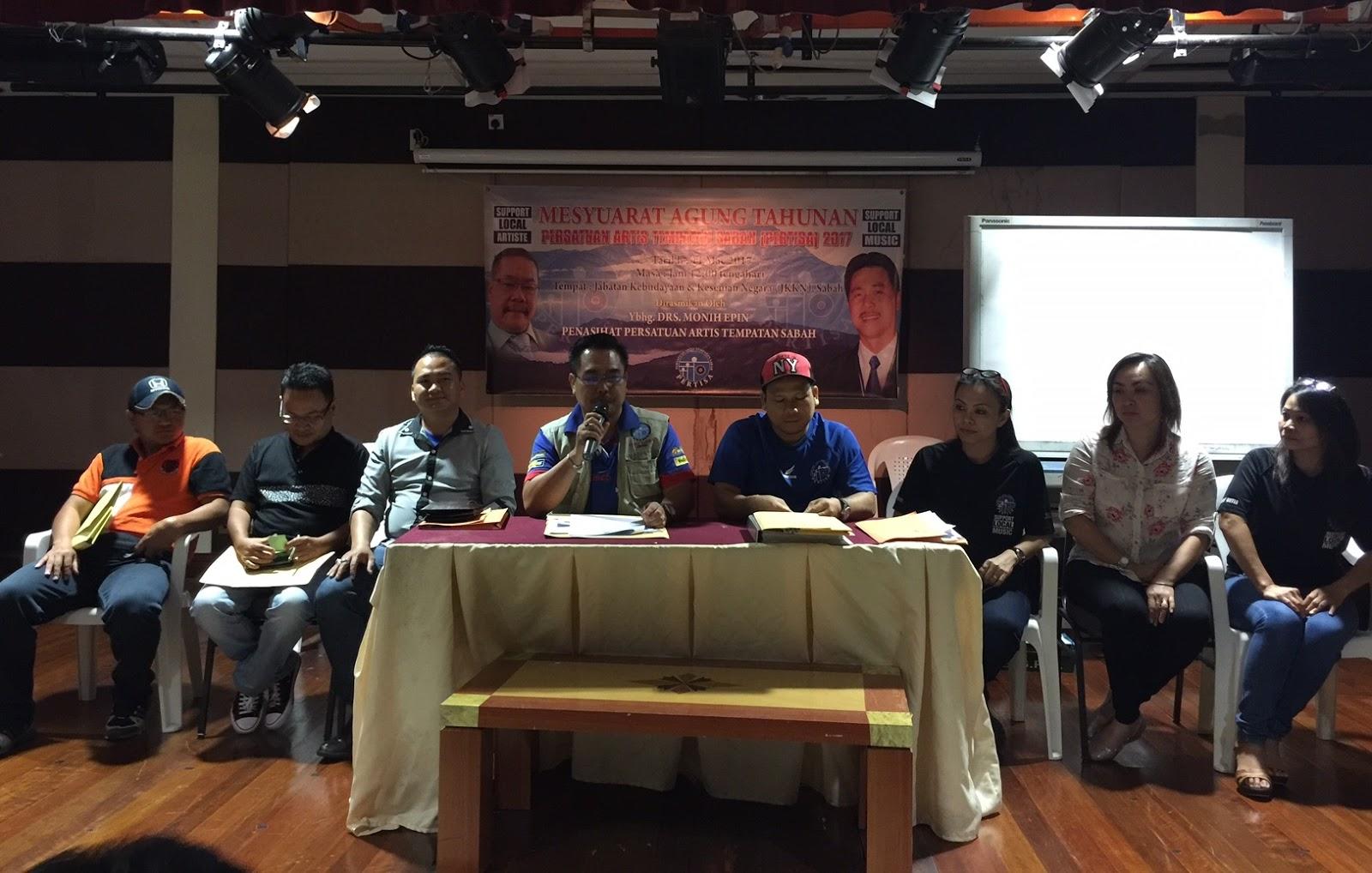 Majlis Tertinggi PERTISA Sesi 2017/2018