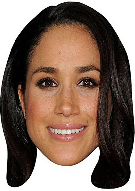 Meghan Markle and Prince Harry Free Printable Masks Oh My Fiesta