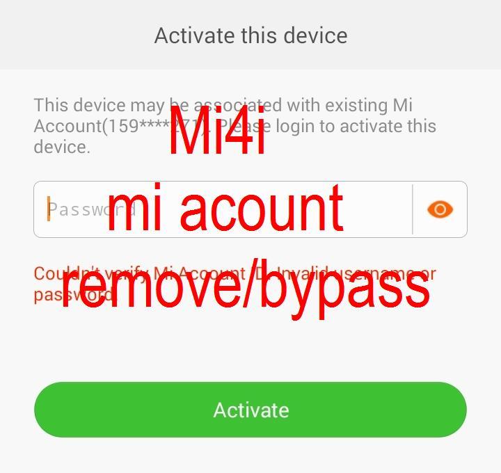 Mi4i Fastboot Rom Download