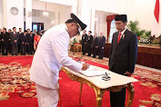 Gubernur Terpilih ODSK Dilantik Presiden Jokowi  Jumat Pekan Ini