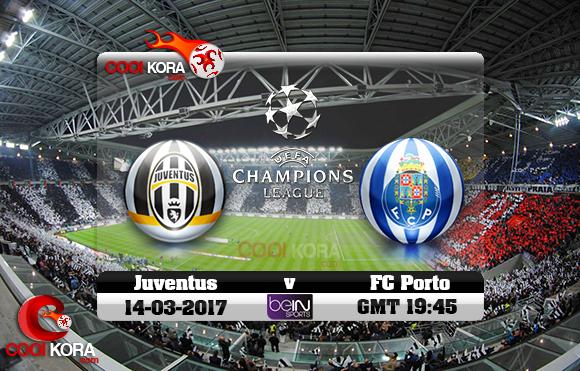 مشاهدة مباراة يوفنتوس وبورتو اليوم 14-3-2017 في دوري أبطال أوروبا