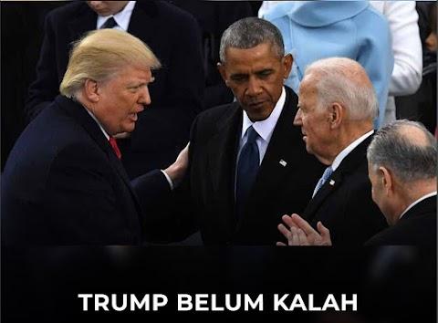 TRUMP BELUM KALAH