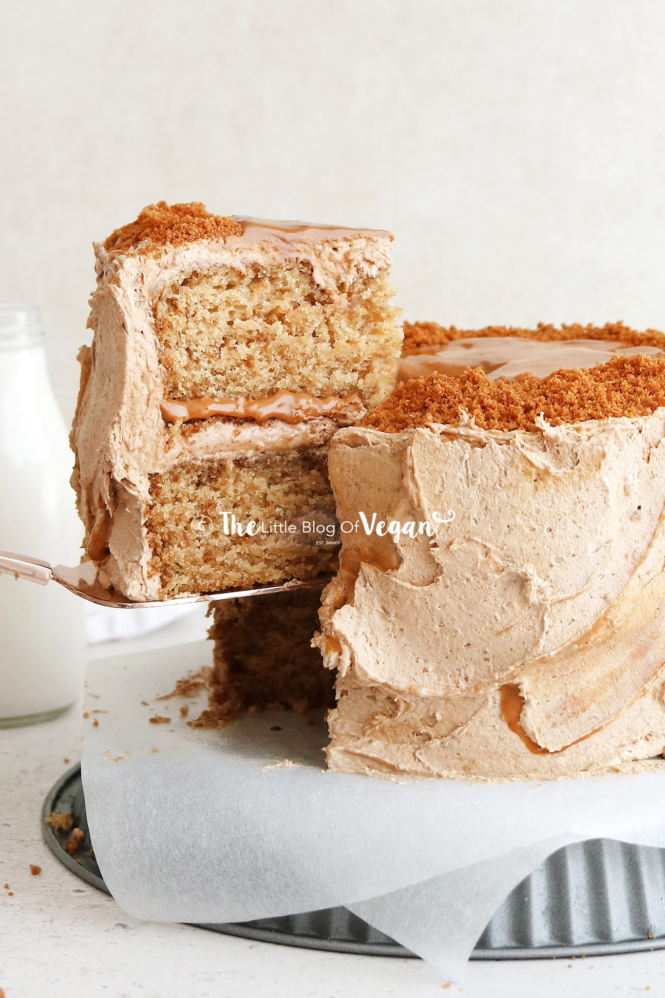 Vegan-Biscoff-cake