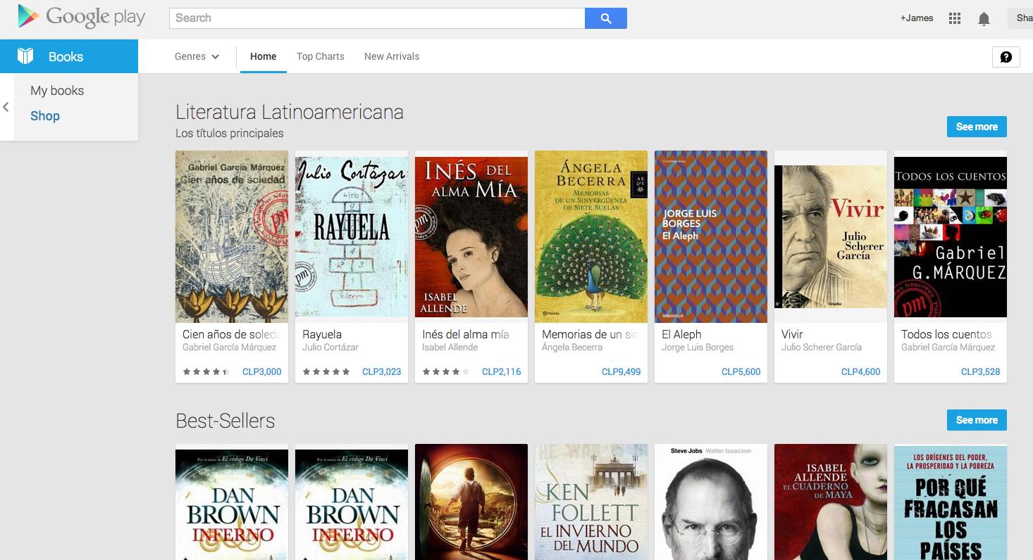 Esto Es Google Llegan Los Libros A Google Play En Argentina Chile