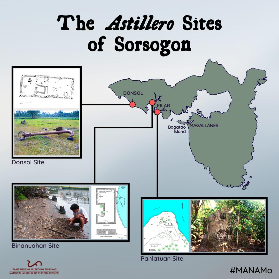 The Astillero sites of Sorsogon