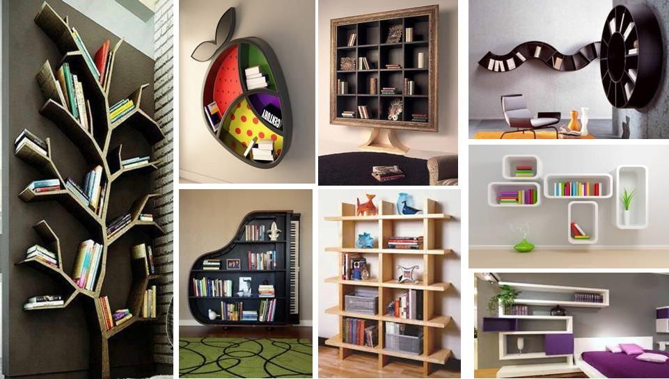20 creative bookshelf designs ideas - Bookshelf Design Ideas