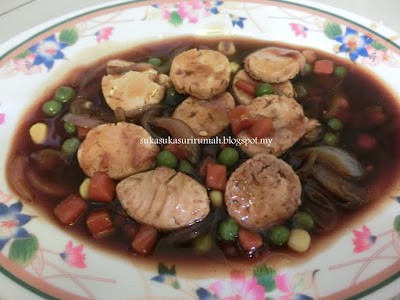 Resepi japanese tauhu masak kicap bersama mix vege