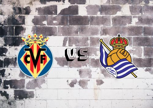 Villarreal vs Real Sociedad  Resumen