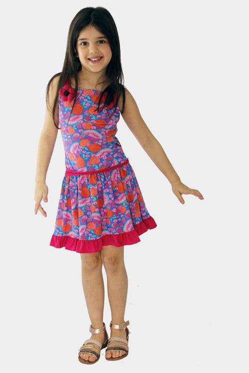 Vestidos de moda para niñas primavera verano 2018.