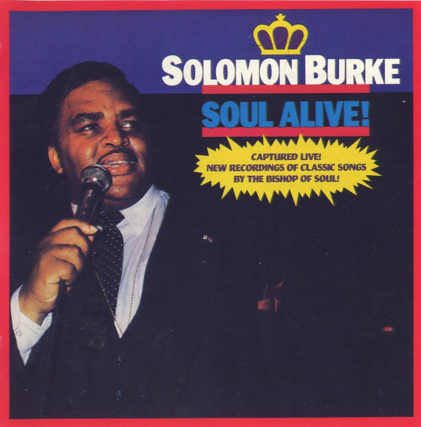 Solomon Burke Soul Alive