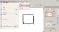 Cara Mudah Membuat Banner Iklan di CorelDRAW Part 2, cara memperkecil atau scale biar seimbang di corel