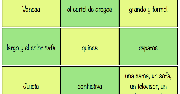 Story Lines A Reading Comprehension Game: Teaching Spanish W/ Comprehensible Input: Post Reading