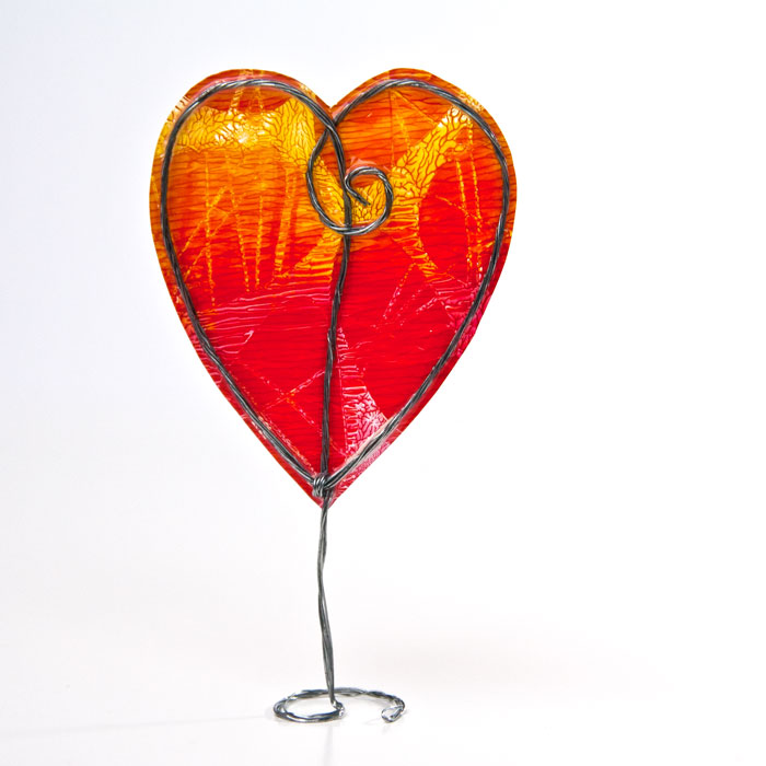 How To Make A Gel Skin Heart Tutorial by Kim Dellow