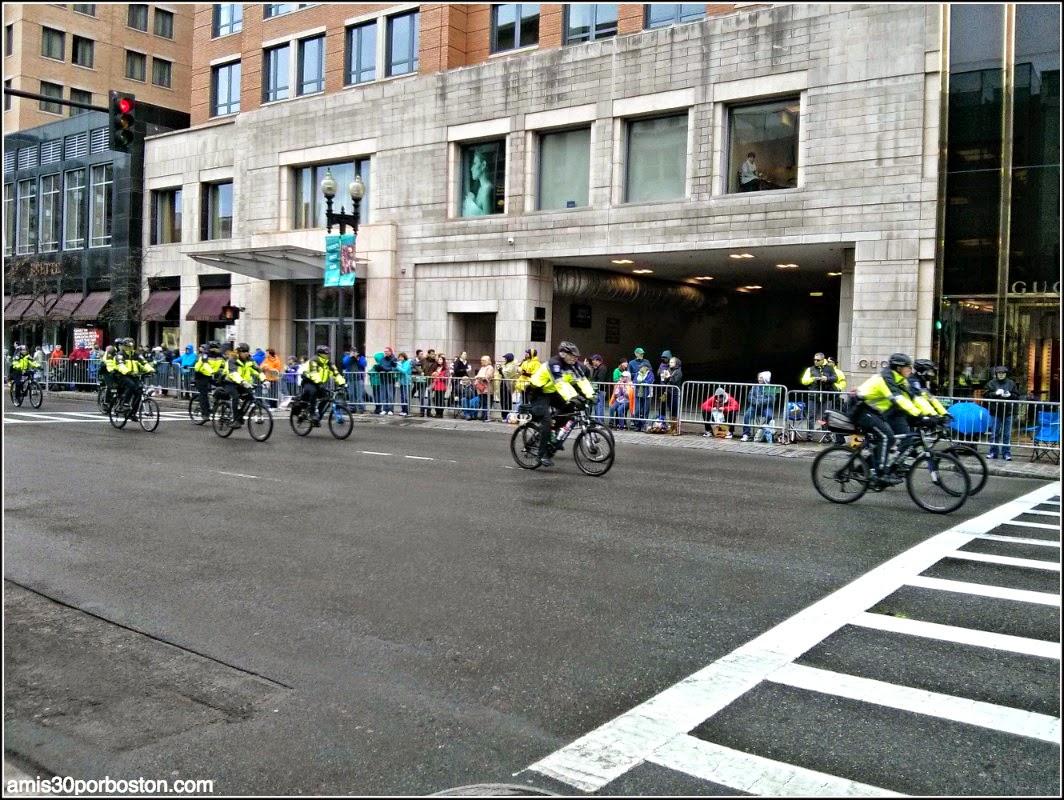 Maratón de Boston 2015: Policias