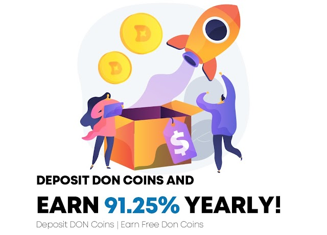 Deonex Coin Staking : How to get free Crypto coin daily and earn free money each day without loss