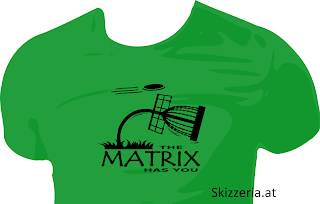 The matrix has you Disc Golf Shirt