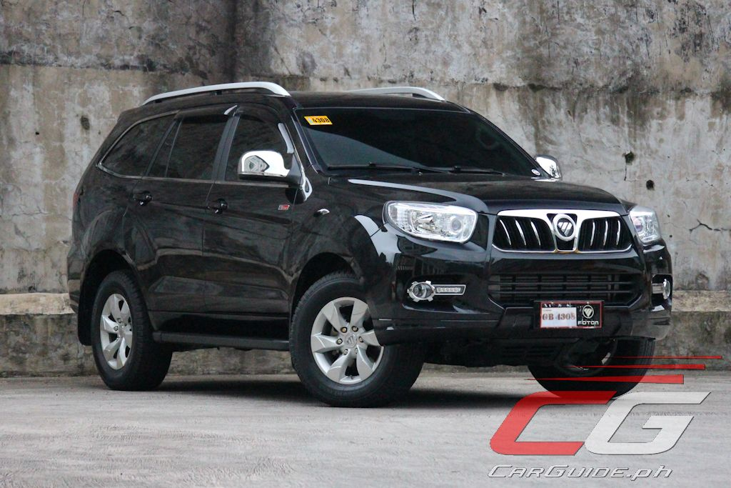 Review 2016 Foton Toplander 4x4 Carguide Ph