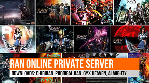 Prodigal Ran, Chibiran, GYX Heaven, Almighty Installer Downloads