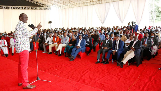 DP William Ruto meeting Kamba leaders at Karen