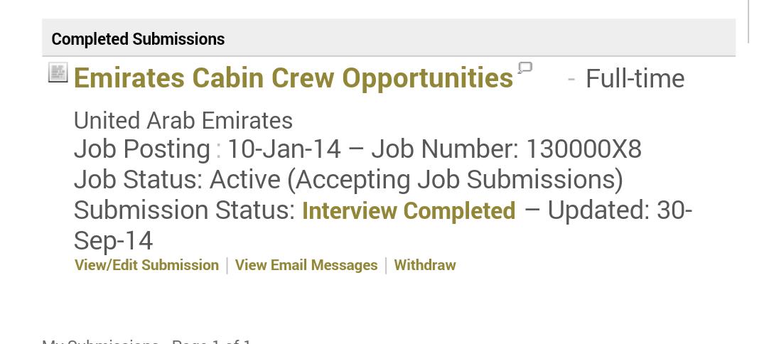 Career Talk My Emirates Final Interview September 2014