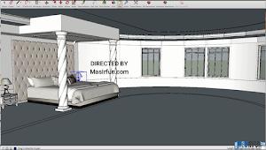 Tutorial Desain Kamar Tidur Lengkap dan Simpel Menggunakan Sketchup