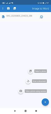تطبيق تحويل النص في الصورة الى نص وورد Word قابل للتعديل تطبيق تحويل الصورة الى نص قابل للتعديل Image to Word